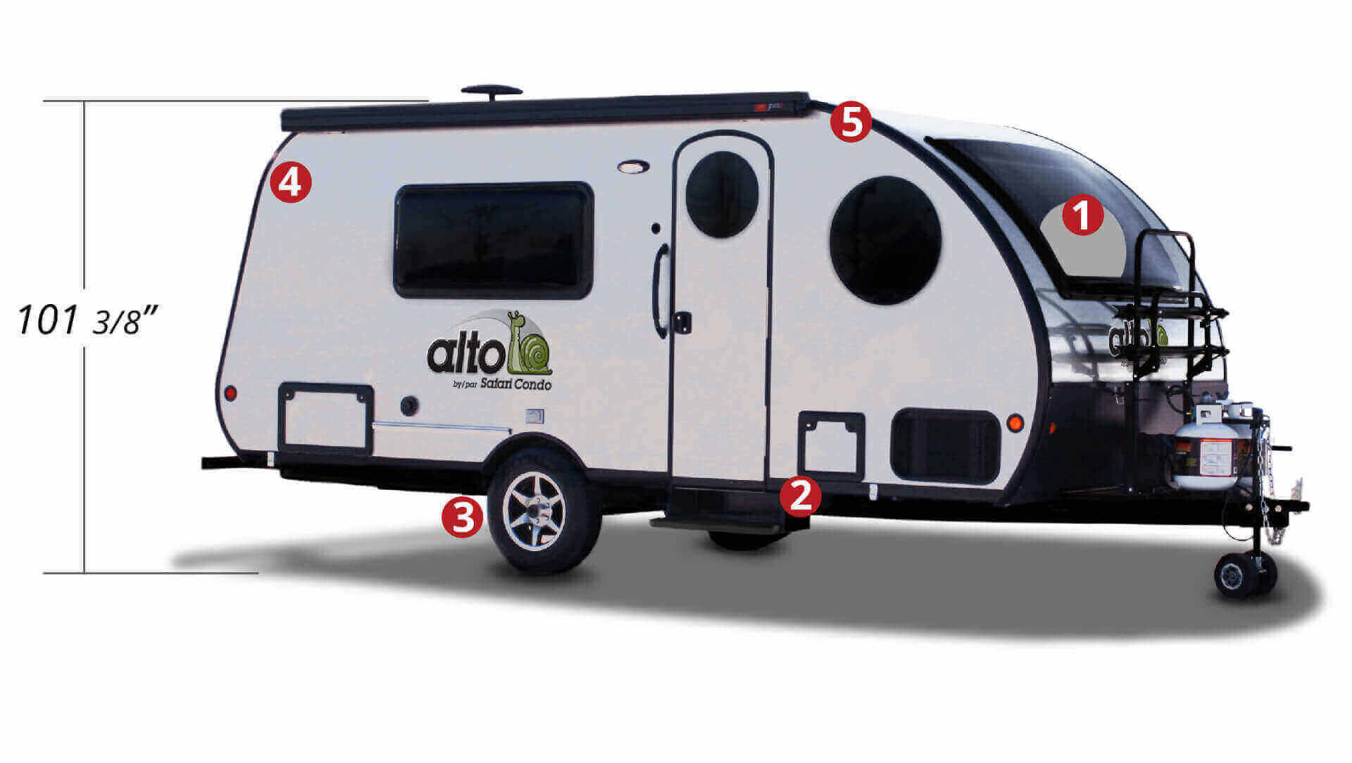Travel Trailers (Alto) | Safari Condo